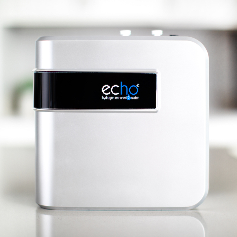 Echo H2 Server / echo water system on display
