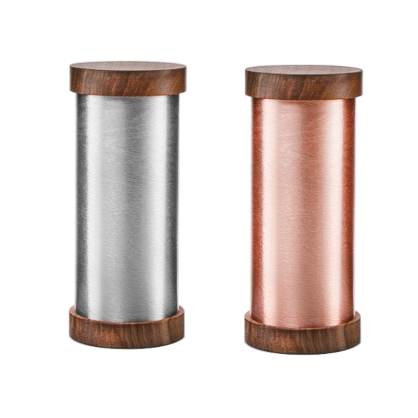 The Qi Shields in copper and nickel to protect from emfs