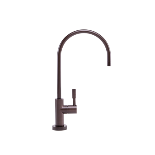 Oiled Bronze faucet that connects to under the counter Echo water machines.